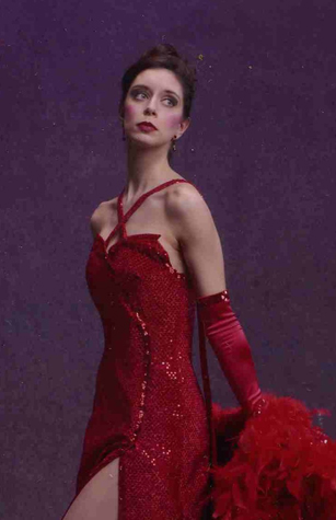 "Gypsy Rose Lee in ""Gypsy"" (Royal City Musical Theatre)  *Photo by David Cooper"