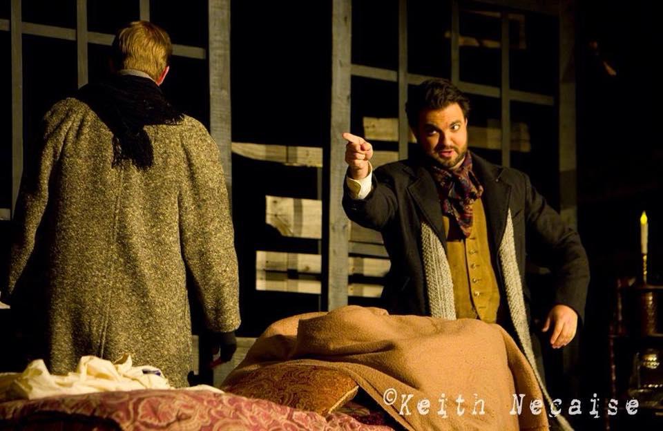"Rodolfo in Mobile Opera's ""La bohème"""