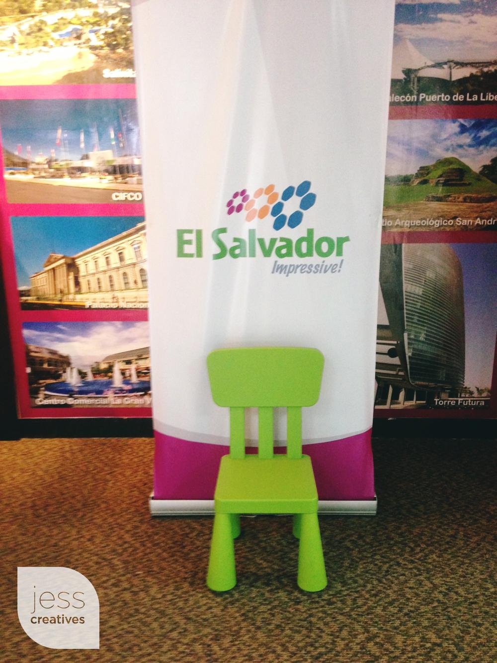 EL SALVADOR, I am here.