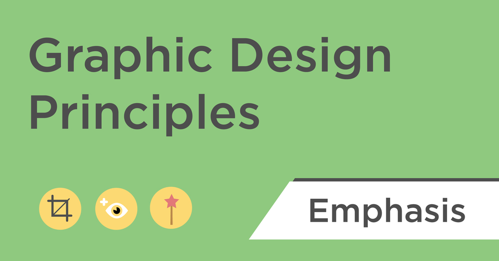 graphic design principles emphasis