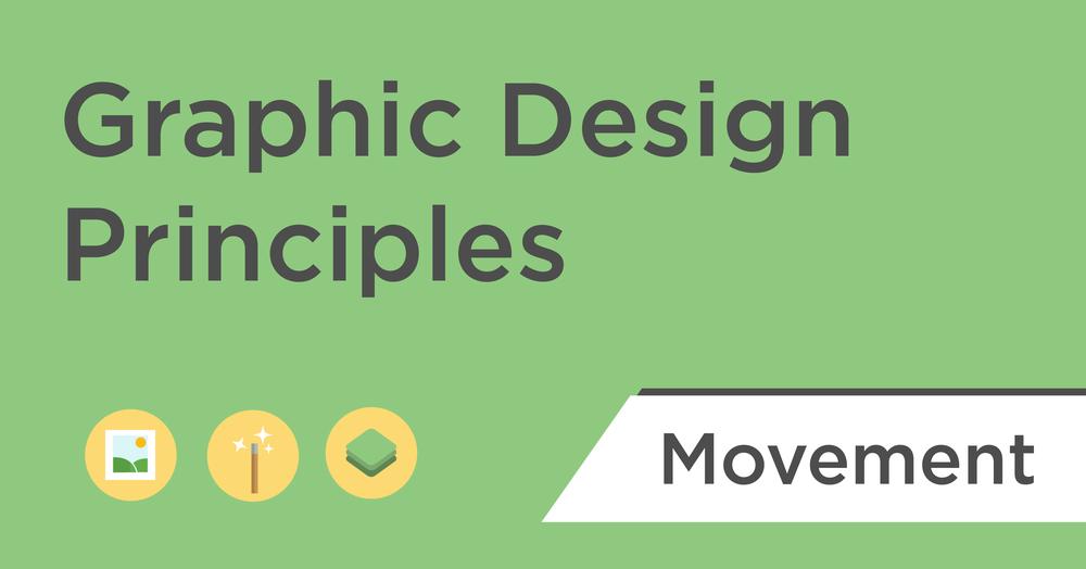 graphic design principles movement