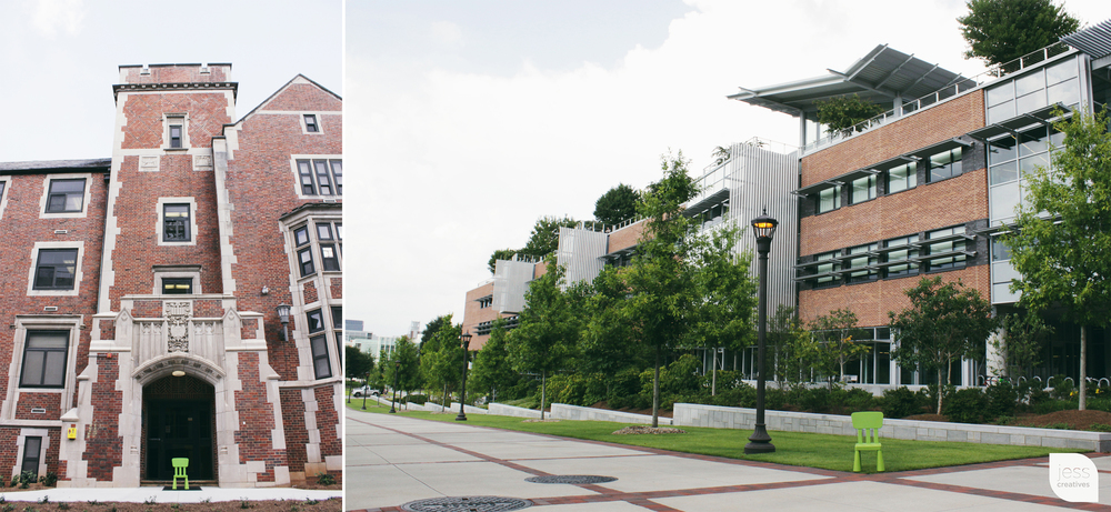 """I love my college campus!"""