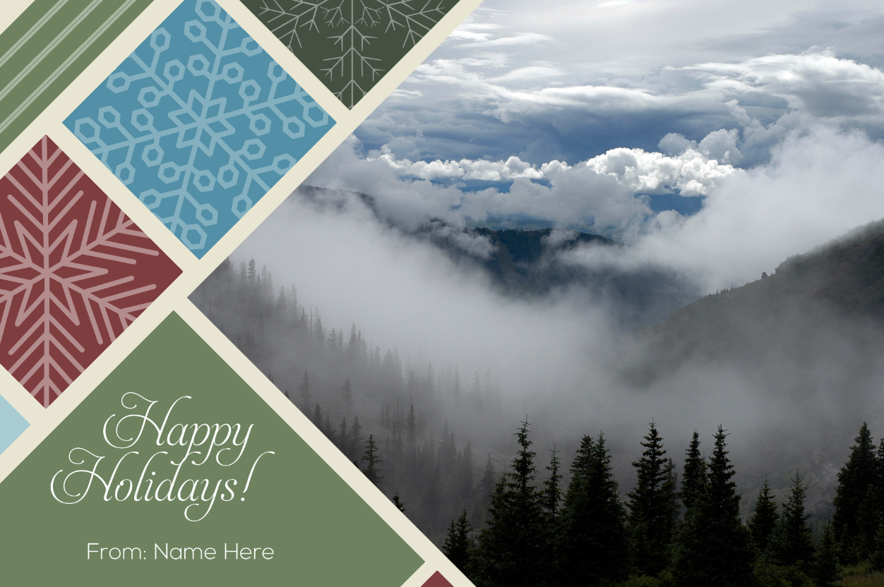 Freebie Friday: Christmas Card Templates