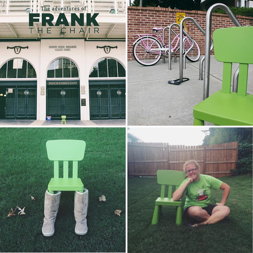 Frank the Chair: September Recap