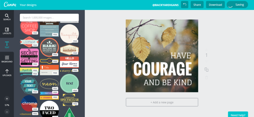 improving instagram with canva