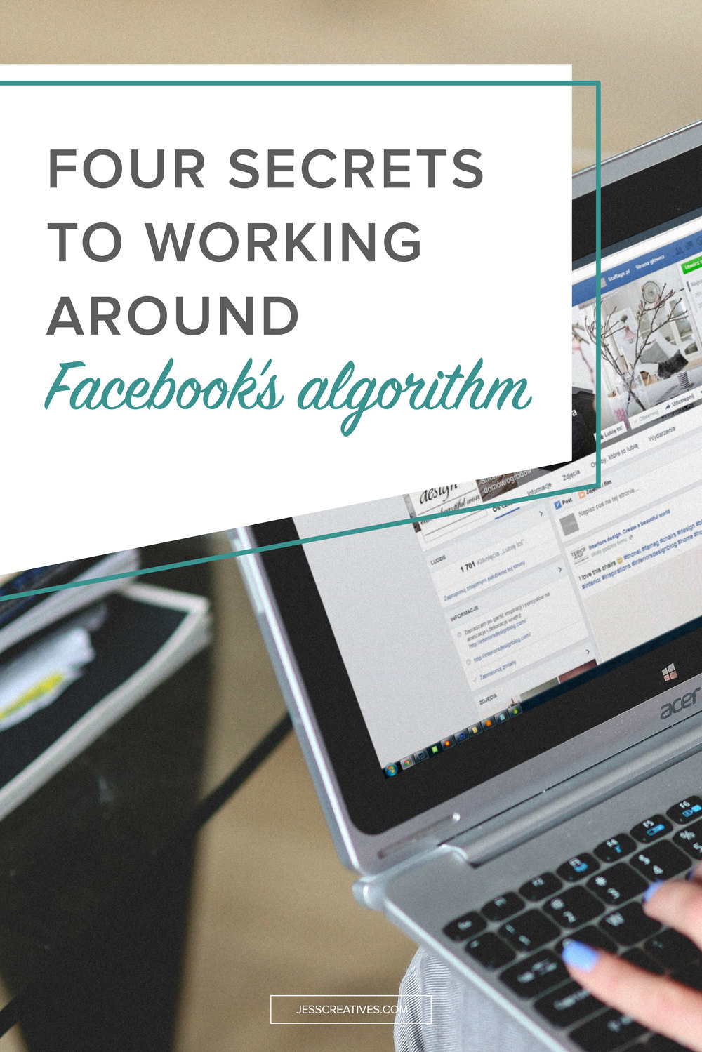 """No one sees my posts.  I don't get any reach.  I feel like I'm losing out on new clients because of Facebook.""  I think we can all agree that Facebook's algorithm has been frustrating for business pages."