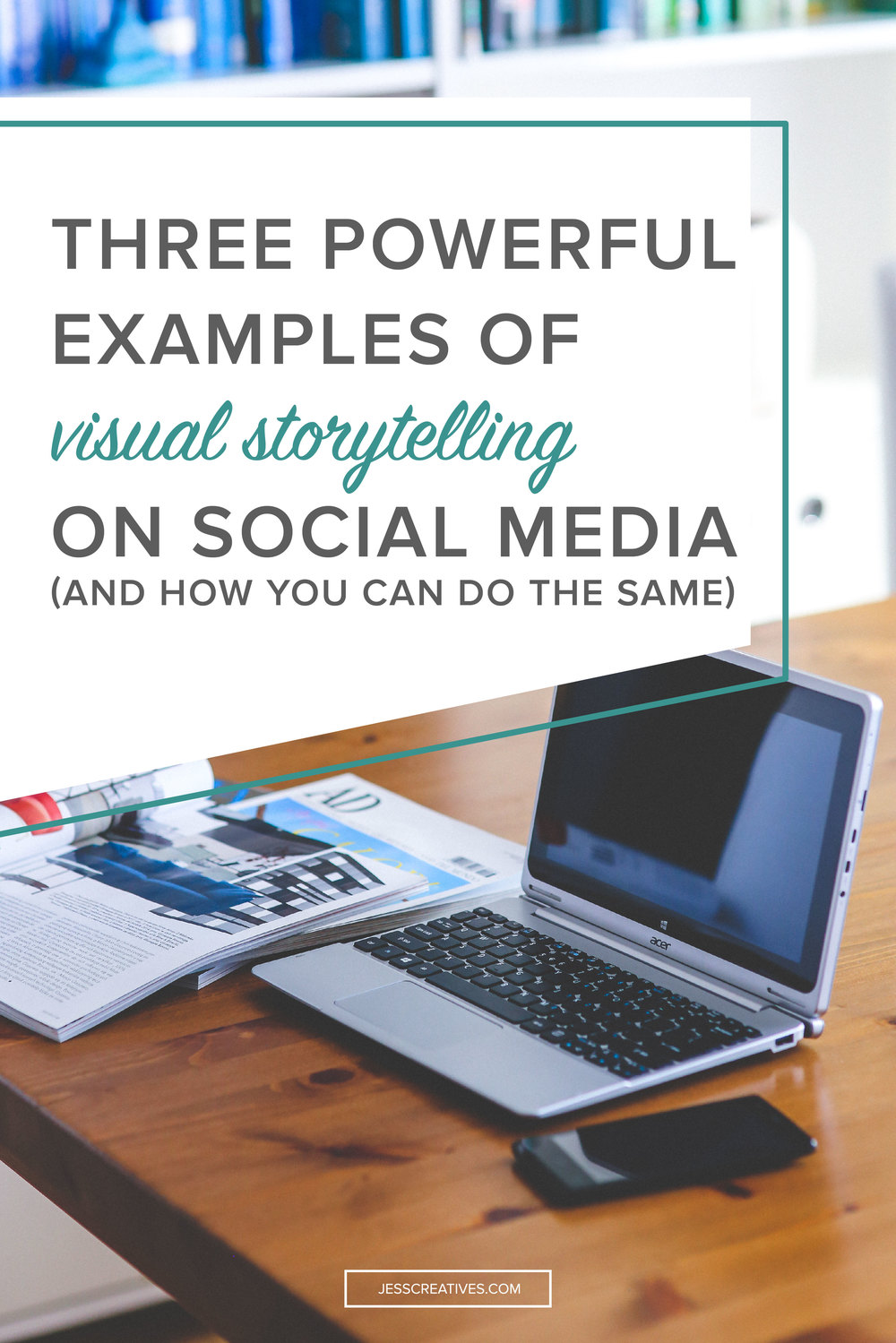 Visuals convey stores in a more elegant, entertaining, and informative way. But, there's more to it than just popping in a few images on your blog. Be persuasive, use high quality images, tell a story with value and a story that appeals to people.