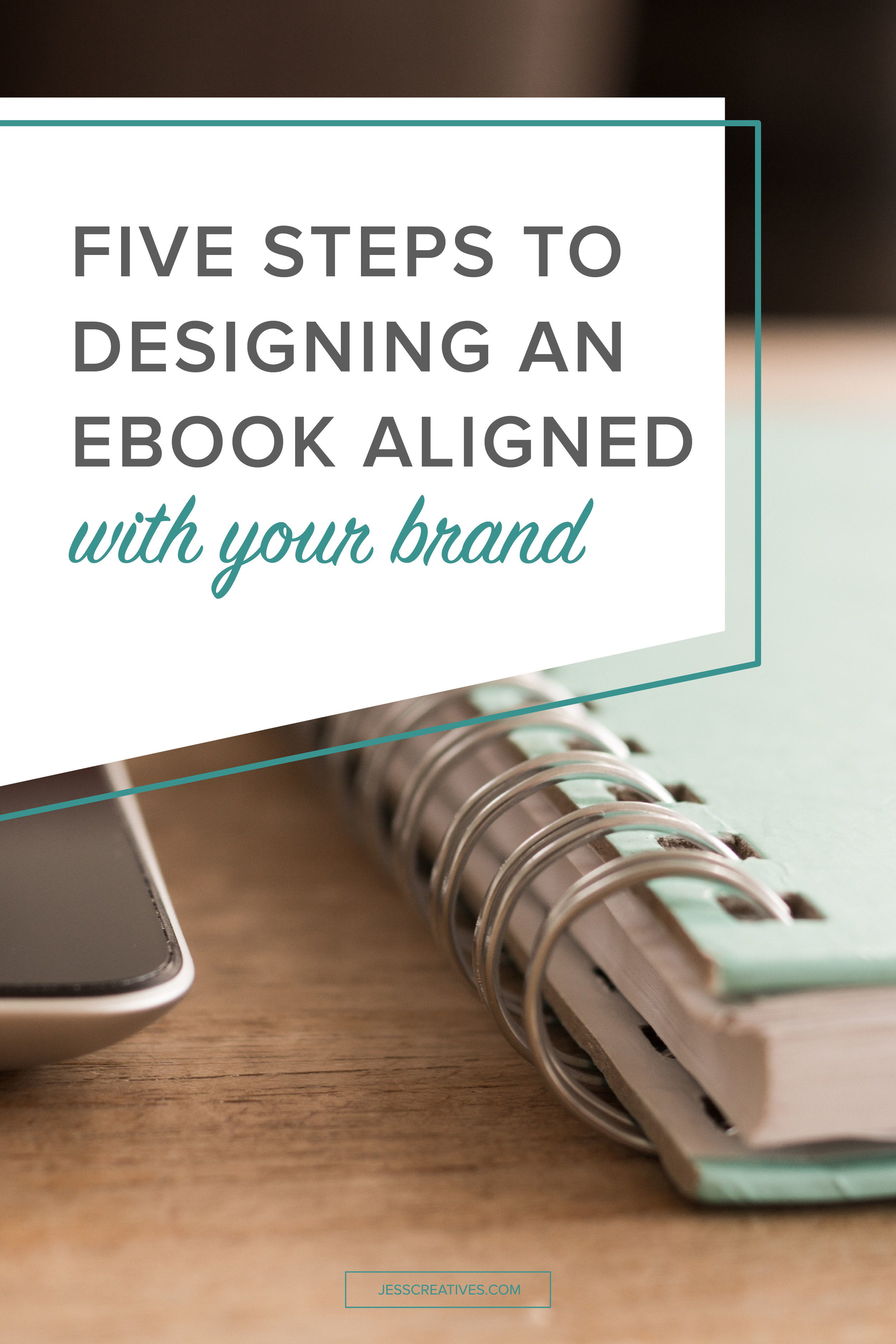 Five steps to designing an eBook aligned with your brand