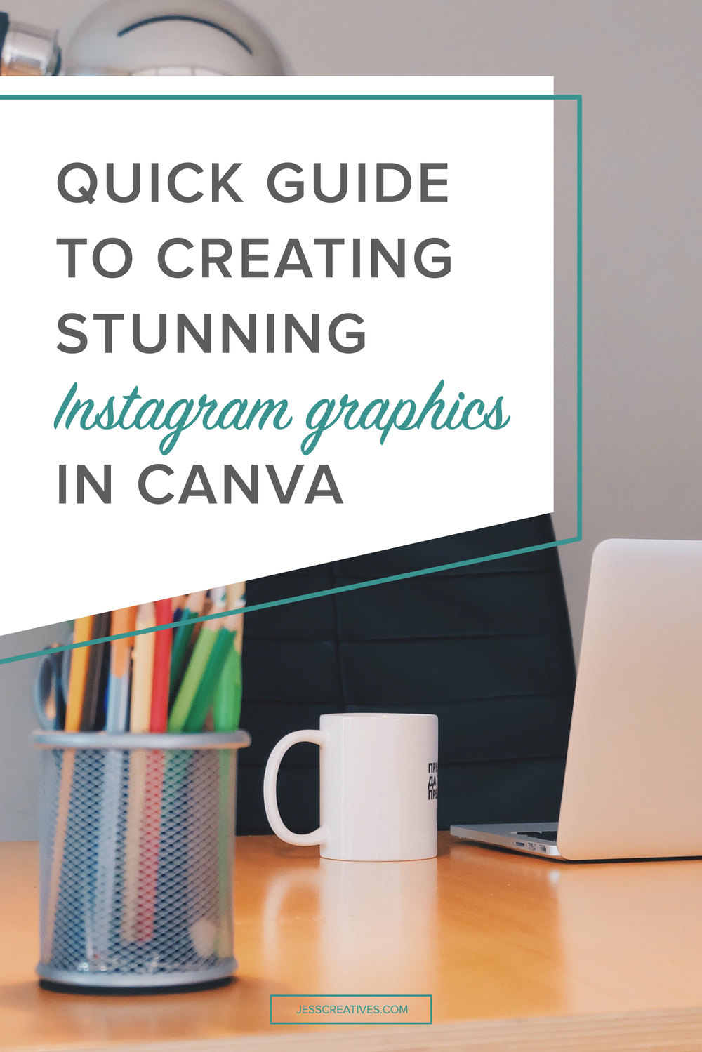 I know not everyone can afford to pay a designer to create Instagram graphics for their business. Lucky for you, there are great free tools out there to create social media graphics! Obviously, as a professional, I don't use these tools, but I want to give you a quick walk-through on how to create better Instagram graphics.