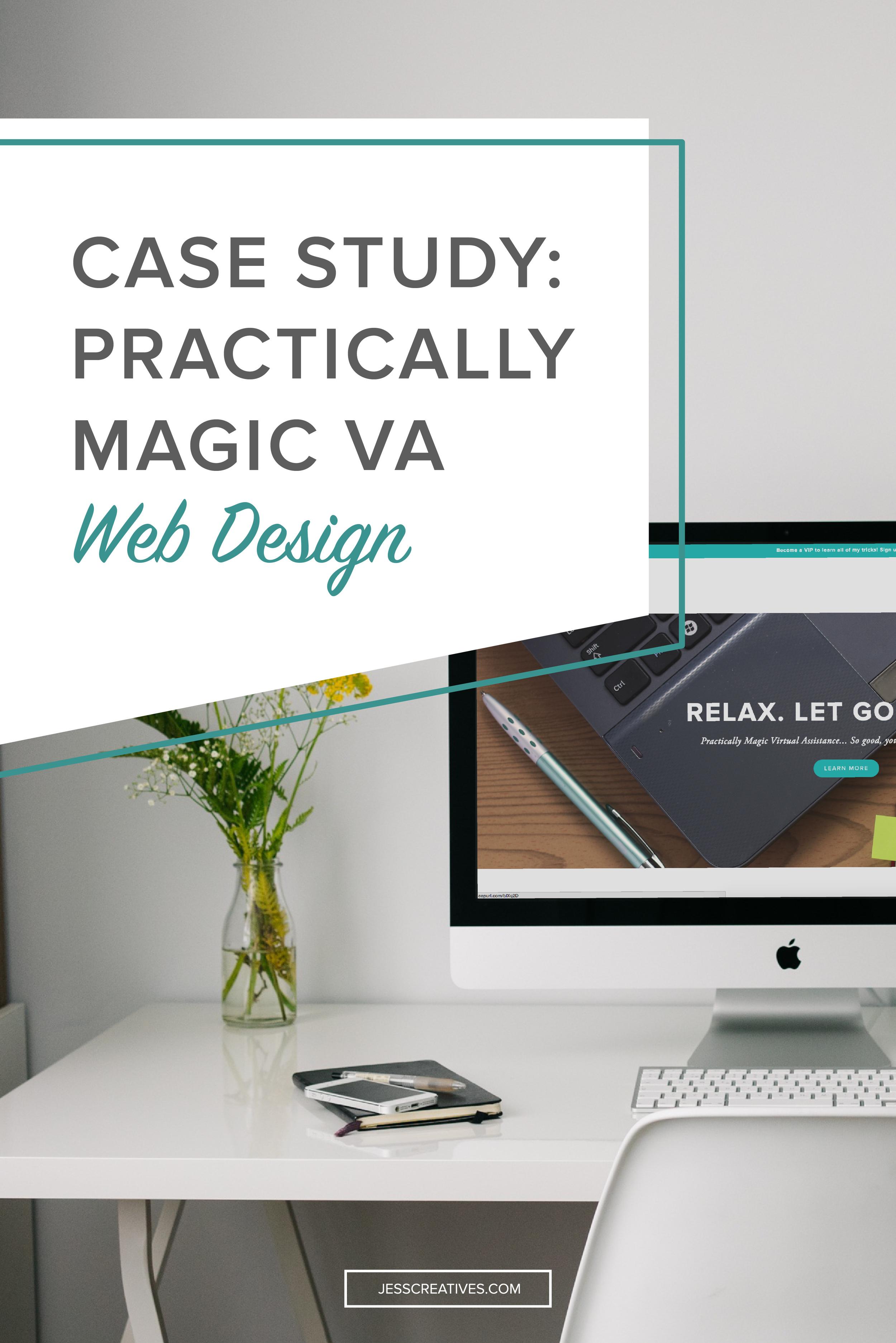 Case study: Practically Magic VA website