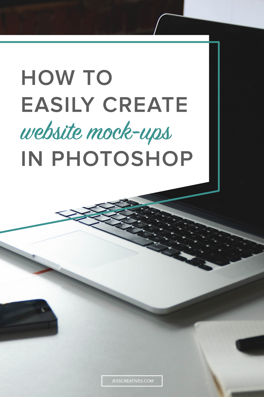 In a recent project with one of my clients, I needed to make a mockup of their website on different devices. I could have gone about this the lengthy way, but there's a much simpler way -- and it only takes three easy steps.