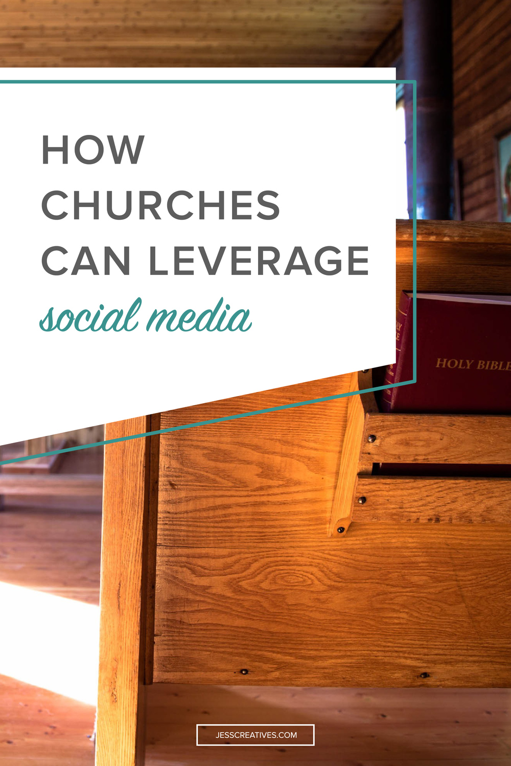 Churches don't have products to sell, they don't have giveaways and sales. How can they use social media? Why should they even bother? Because most people attend church for two reasons: to grow in their faith, and to have community.