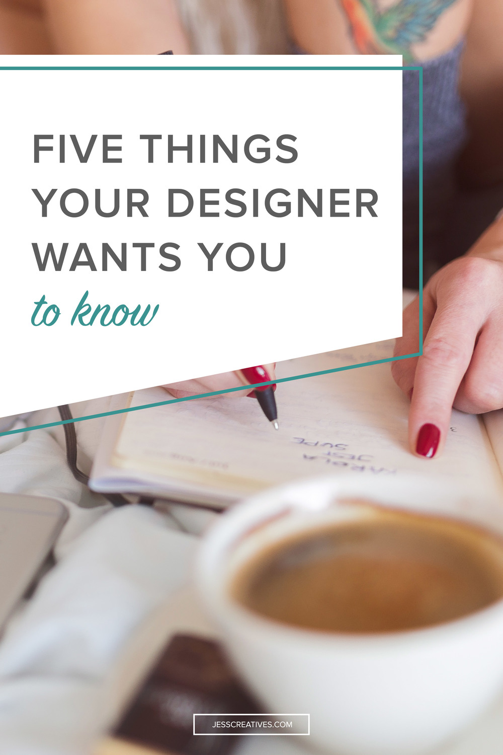 As a designer who talks with other designers, there are some things that we all hear again and again. This comes as a result of two things: people are not well-informed on design (#sorrynotsorry), and people are not used to working with a designer. Here are five things we want you to know before you begin working with a designer.