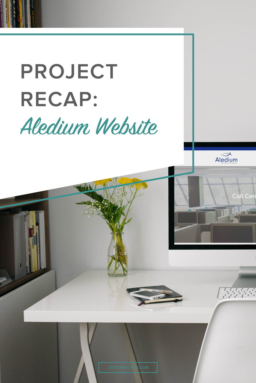 Project Recap: Aledium Website