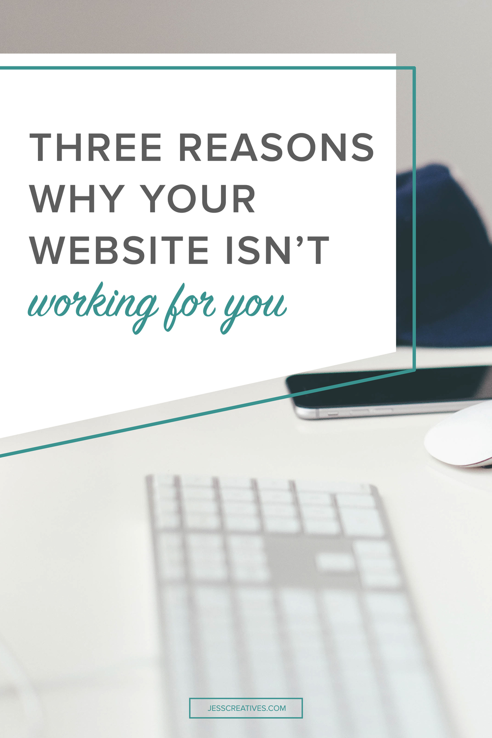 You know having a great website is crucial to growing your business. But, I know that you're struggling to make it really work for you. You try to design it as best you can, but you know your DIY skills are lacking. What's worse? You're not getting the clients you desperately need!