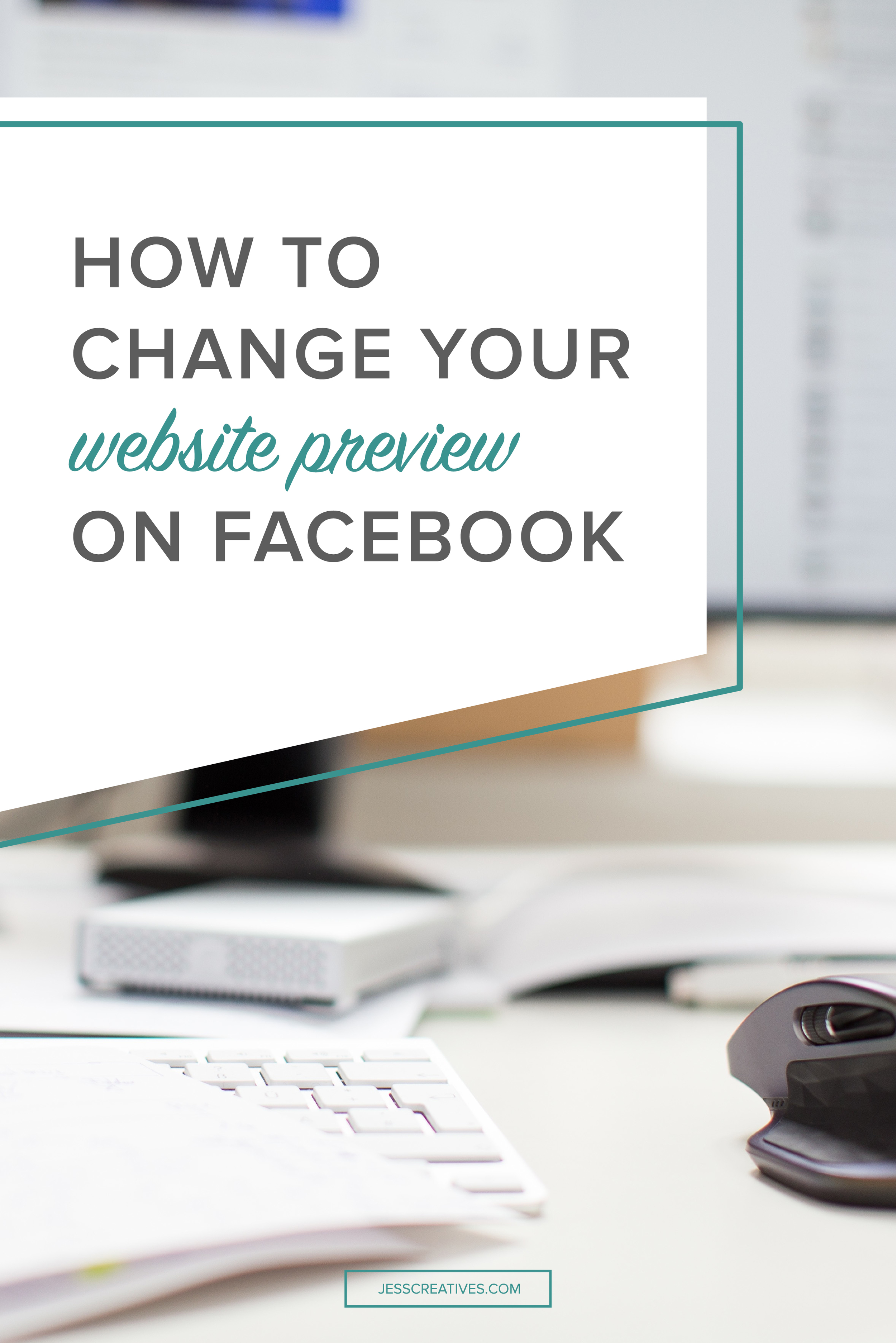 How to change your website preview on Facebook
