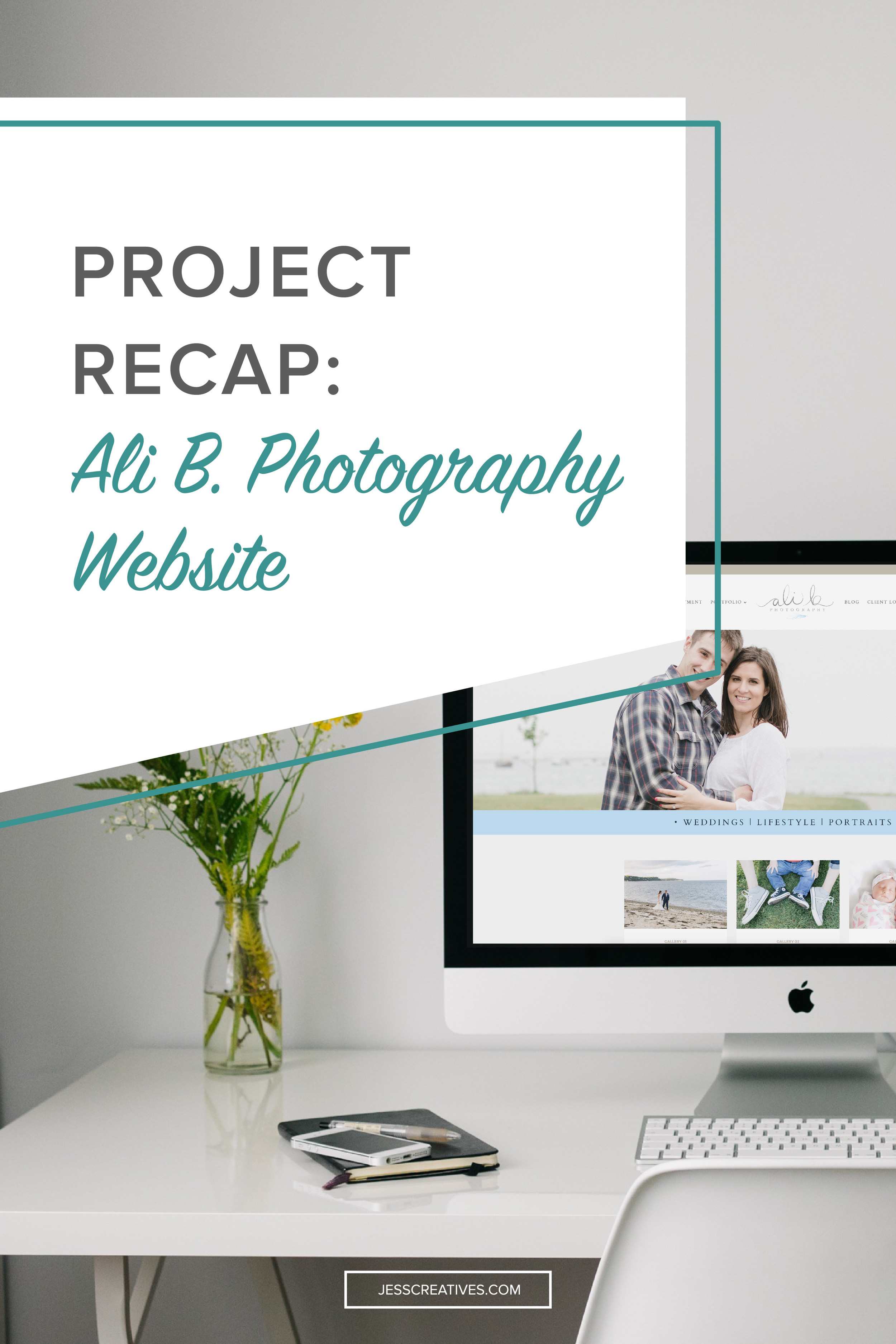 Project Recap: Ali B. Photography Website