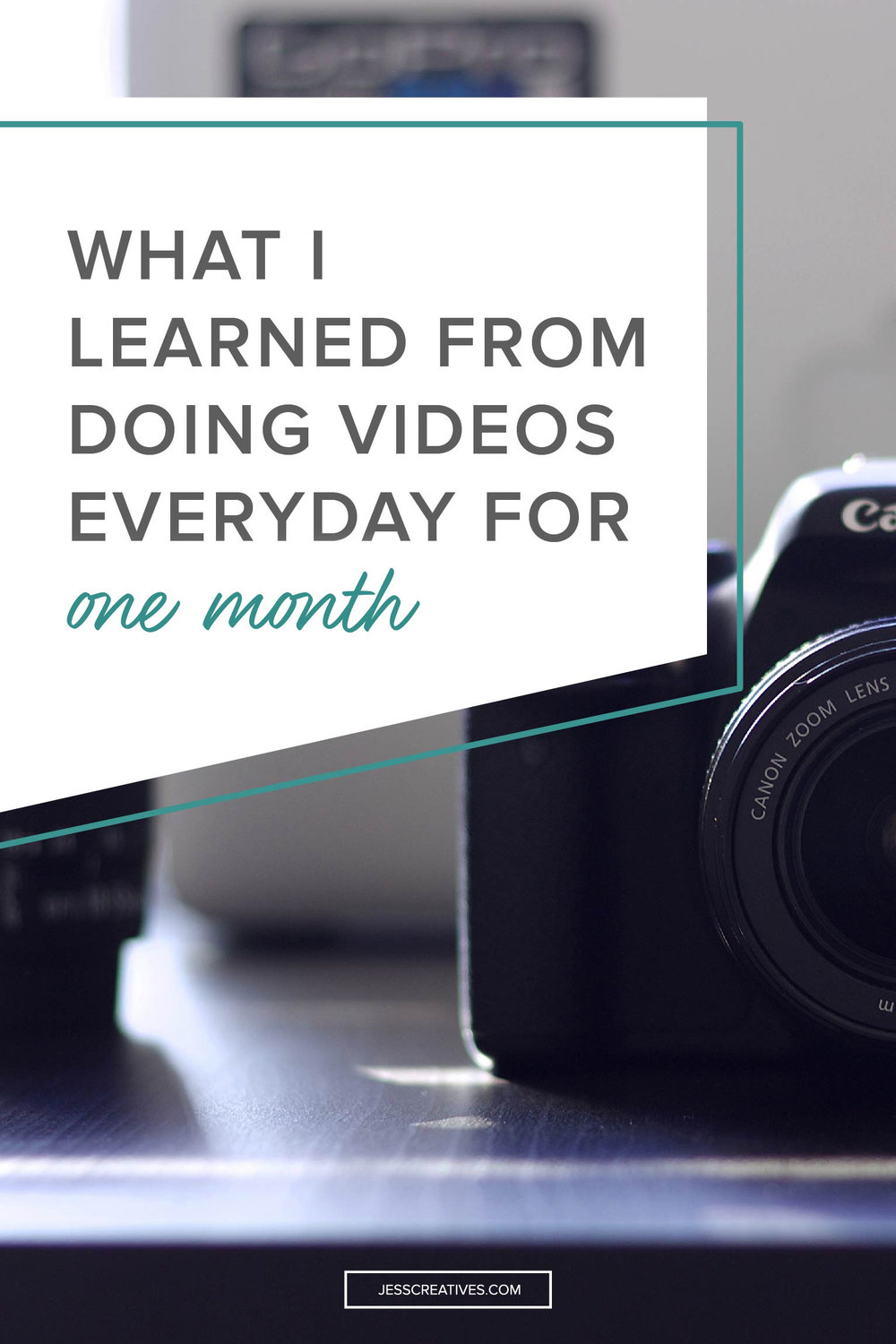 What I Learned from Doing Videos Everyday for One Month