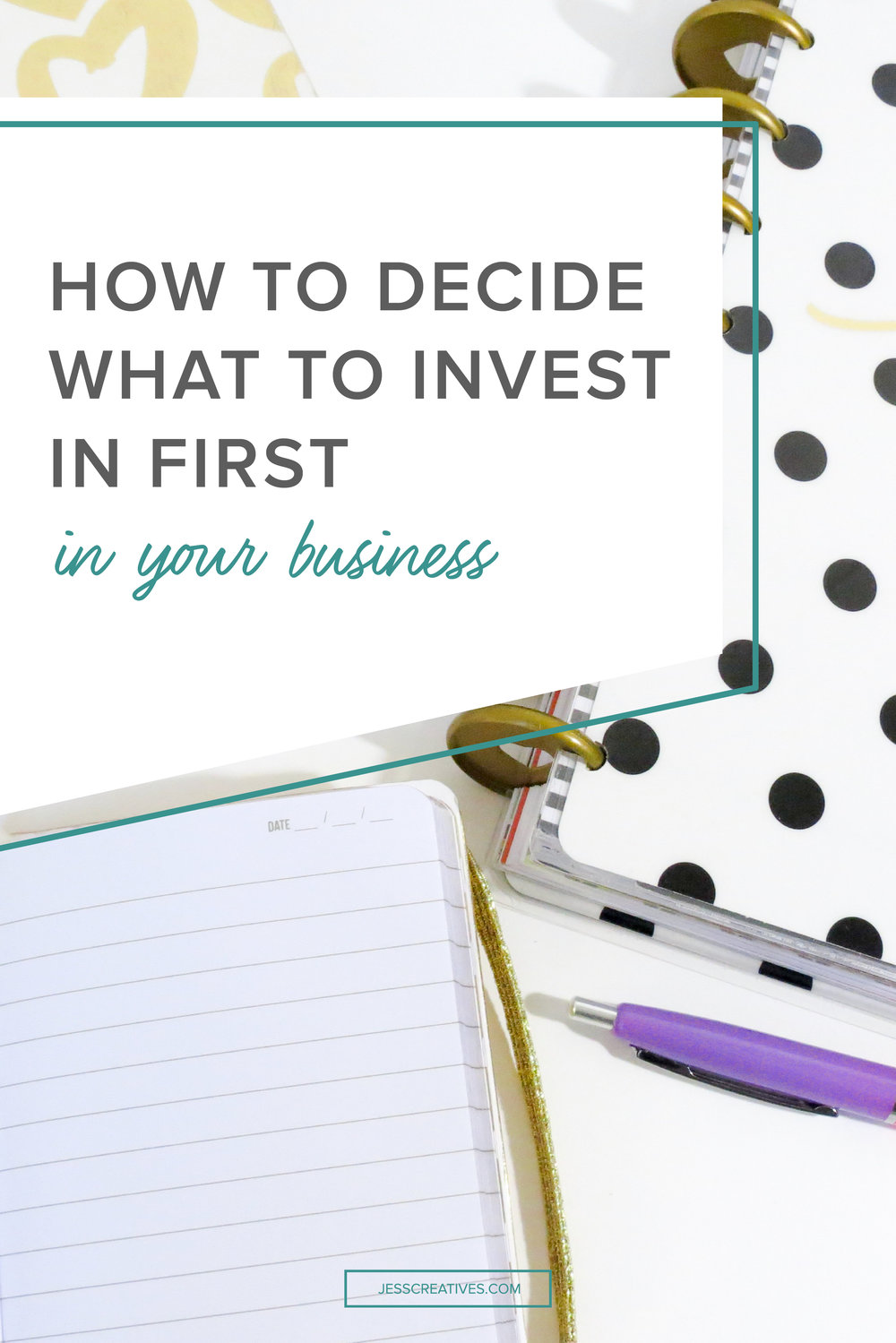 In this post, I'll talk about three great investments you can make for your business. But the point here is help you understand the right time to make each investment so that you don't have to stress about where to spend money as you grow.