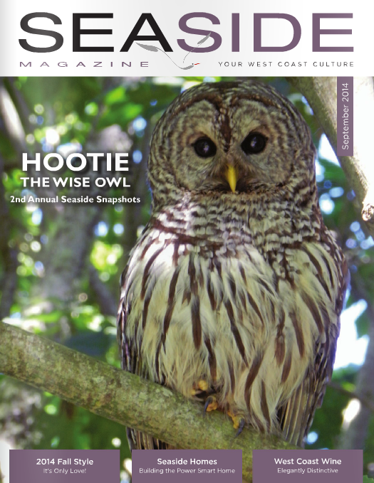 Contributing Writer  September 2014 Seaside Magazine