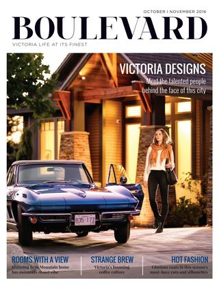 Featured in the Oct/Nov 2016 Design issue of Boulevard