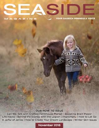 Contributing Writer  November 2018 Seaside Magazine