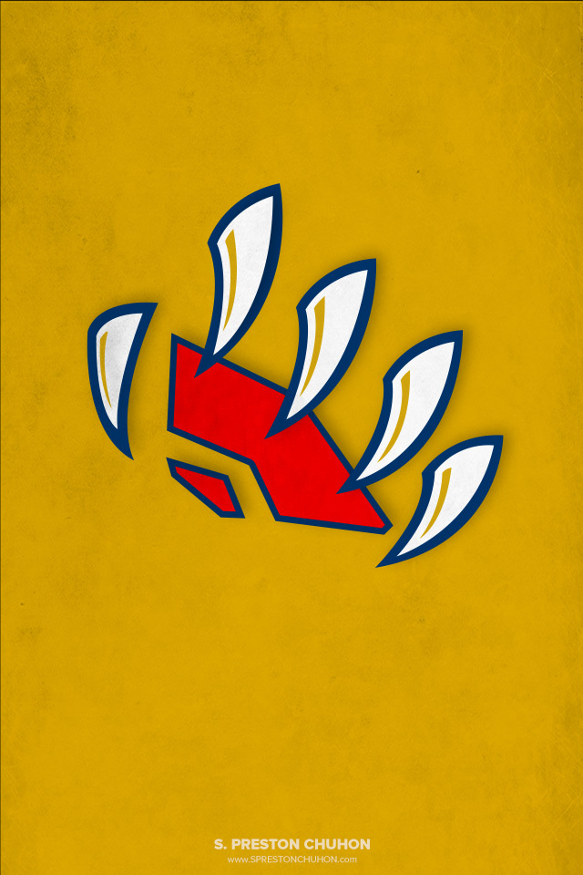 Minimalist Florida Panthers iPhone4 - 640x960 iPhone5 - 640x1136