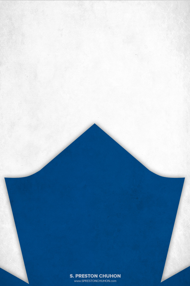 Minimalist Toronto Maple Leafs iPhone4 - 640x960 iPhone5 - 640x1136