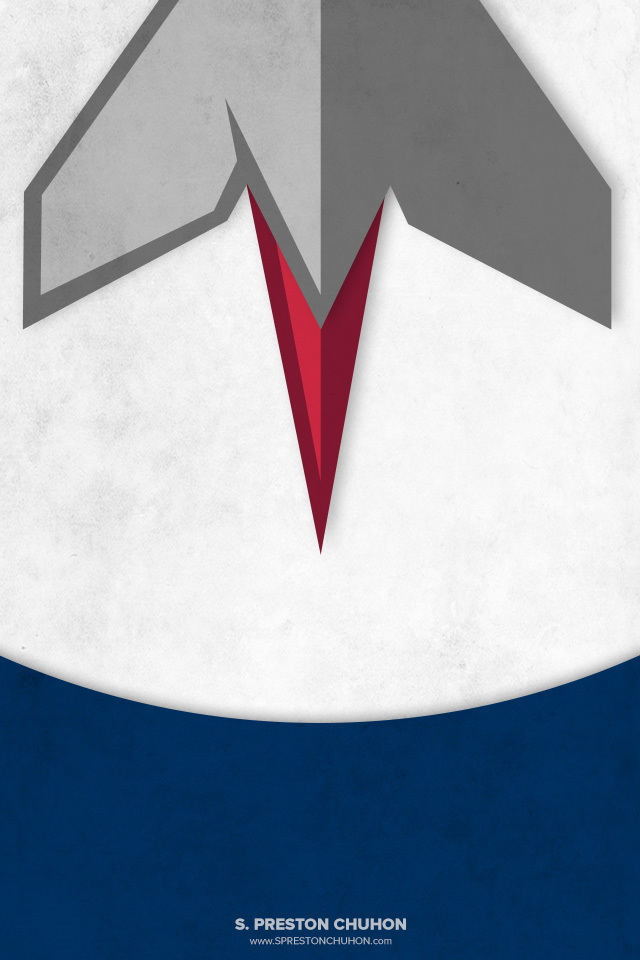 Minimalist Winnipeg Jets iPhone4 - 640x960 iPhone5 - 640x1136
