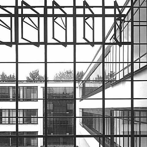 In through the outdoor  #Bauhaus #germany #dessau #art #movement #architecture