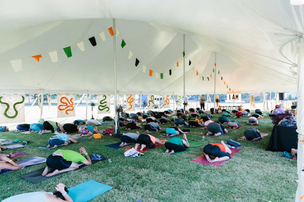IAM Yoga, Art + Music Festival, 2015