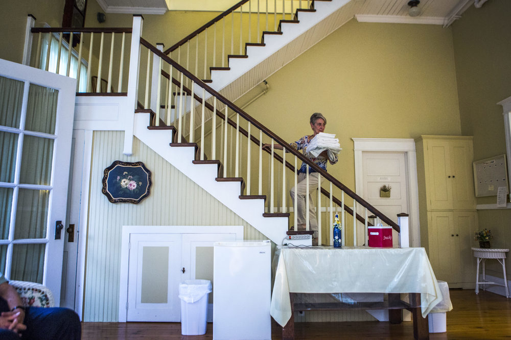 """As hosts, they describe their job as to be """"gracious to everyone who comes inside the front door"""". Most of their responsibilities as hosts include physical tasks such as cleaning and day to day maintenance."""