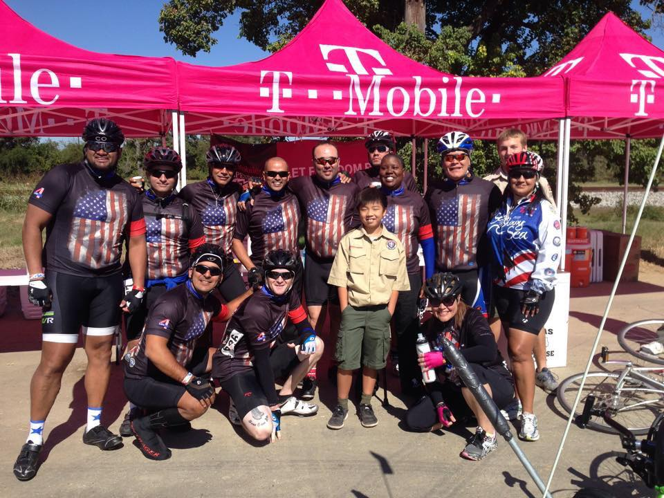 Warriors 4 Life Team in Wallis Texas (Independence Ride)