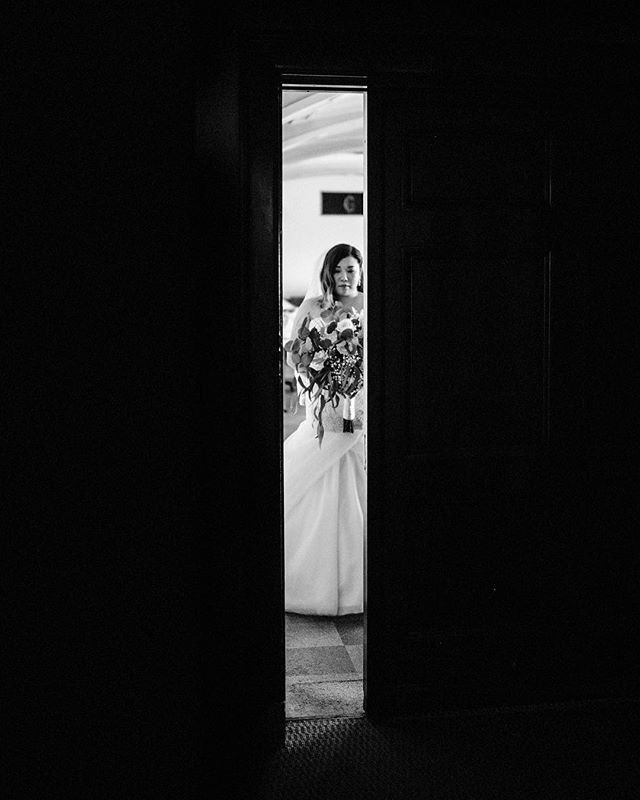 Courtney, moments before walking down the aisle to see Ian for the first time.  I'm so honored to be able to share in these emotional days with my couples. It's honestly something I don't deserve to be able to capture, but I am so grateful for it. Ian and Courtney are close friends of mine and have an incredible love for each other I look up to. I'm going to have a lot of photos to share from their wedding day .