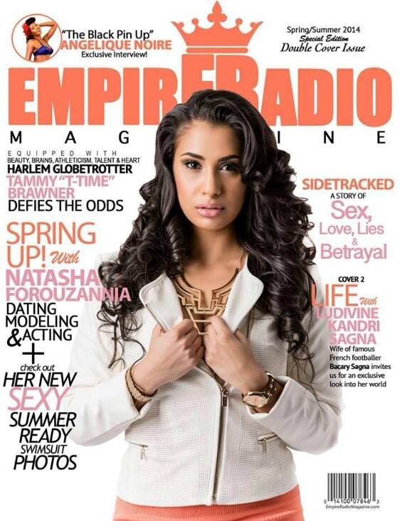 Empire Radio Magazine  Spring/Summer 2014 Cover, Spread and Interview. Preview Issue   HERE  .