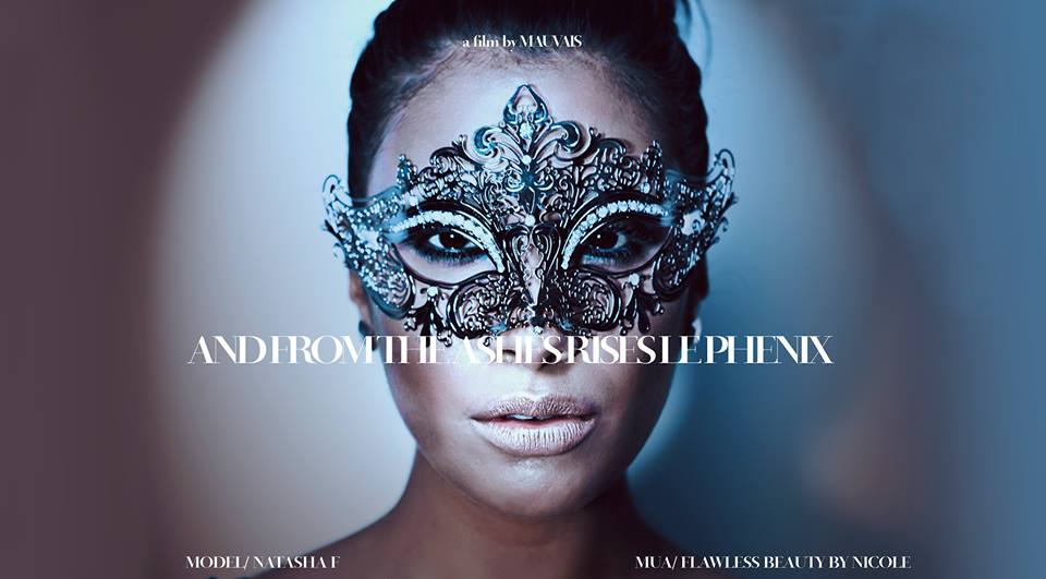 """Fashion Film, """"And From the Ashes Rises Le Phenix"""" by  Mauvais ."""