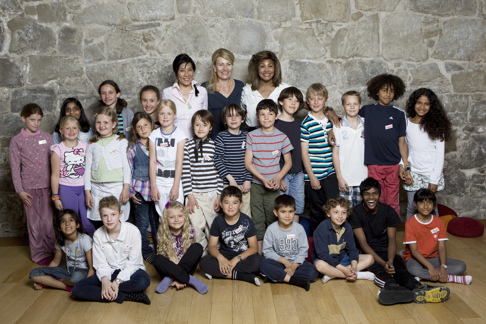 Tina Turner and Children Beyond Singers
