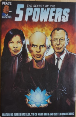 You also receive (1) Collectible 1st Edition The Secret of the 5 Powers Comic Book.