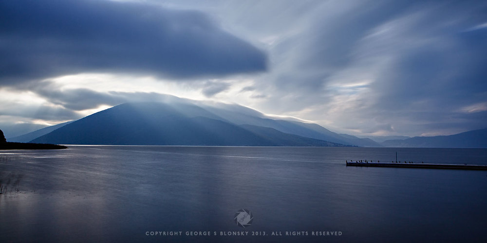 Mikri Prespa Lake photographed during our autumn 2013 landscape photography workshop and tour of northern Greece