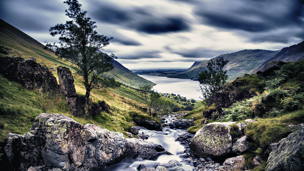 Wastwater in the Lake District photographed as part of a landscape photography tutorial by George S Blonsky
