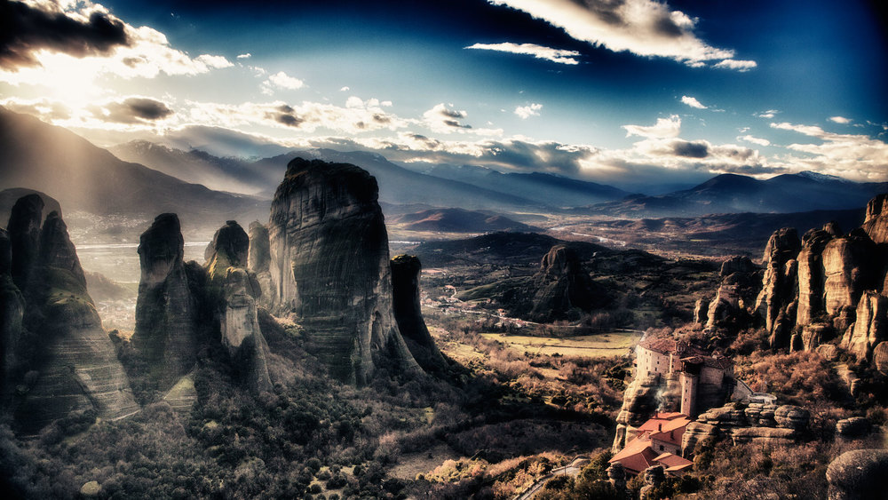 Meteora photographed during one of our landscape photography workshops and tours of the mountainous regions of Greece
