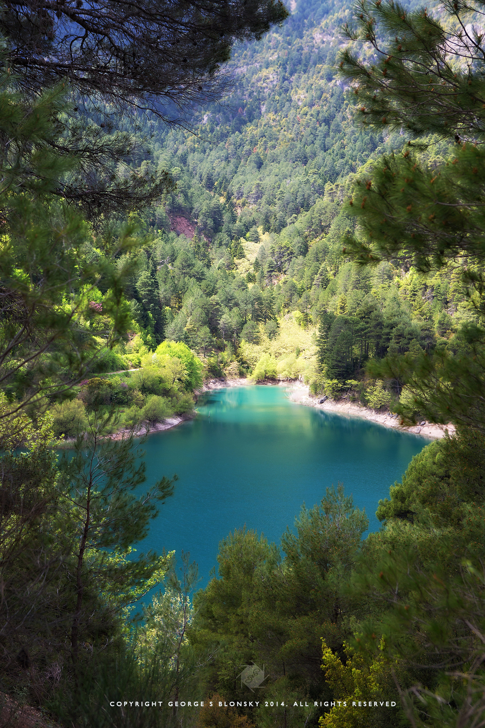 Lake Tsivlos photographed during our 3 day off-road driving & landscape photography workshop with JP Forum