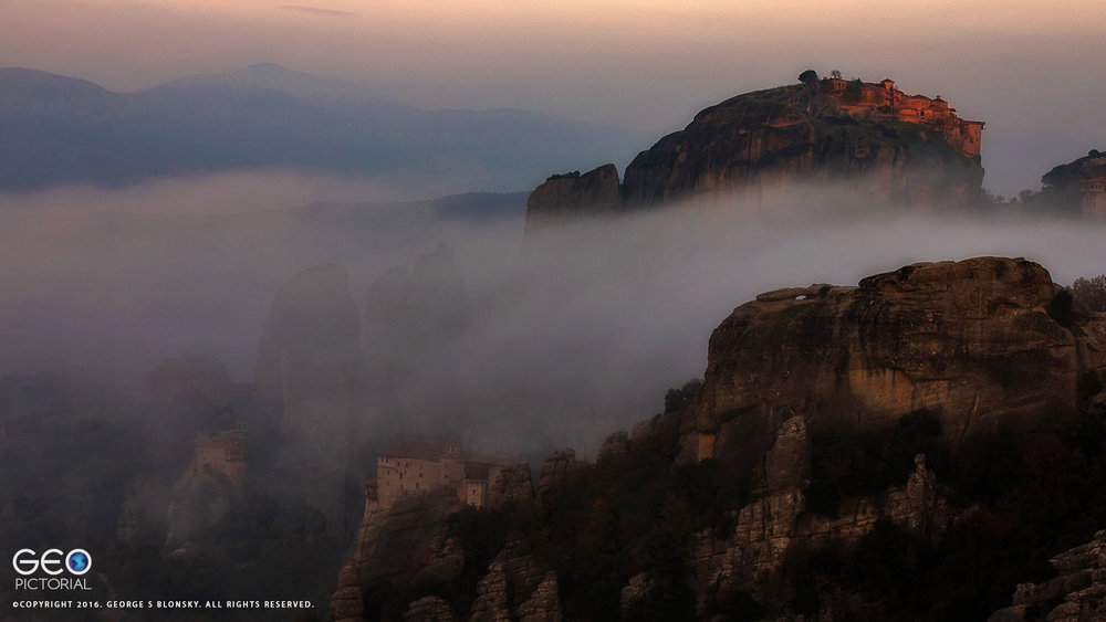 Megalo Monastery at Meteora