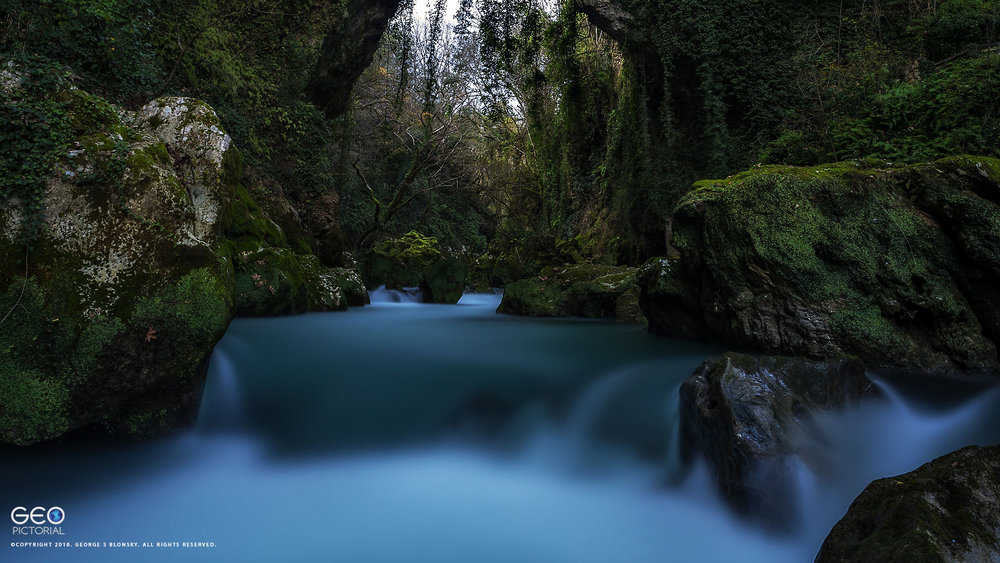 waterfall western Pindos