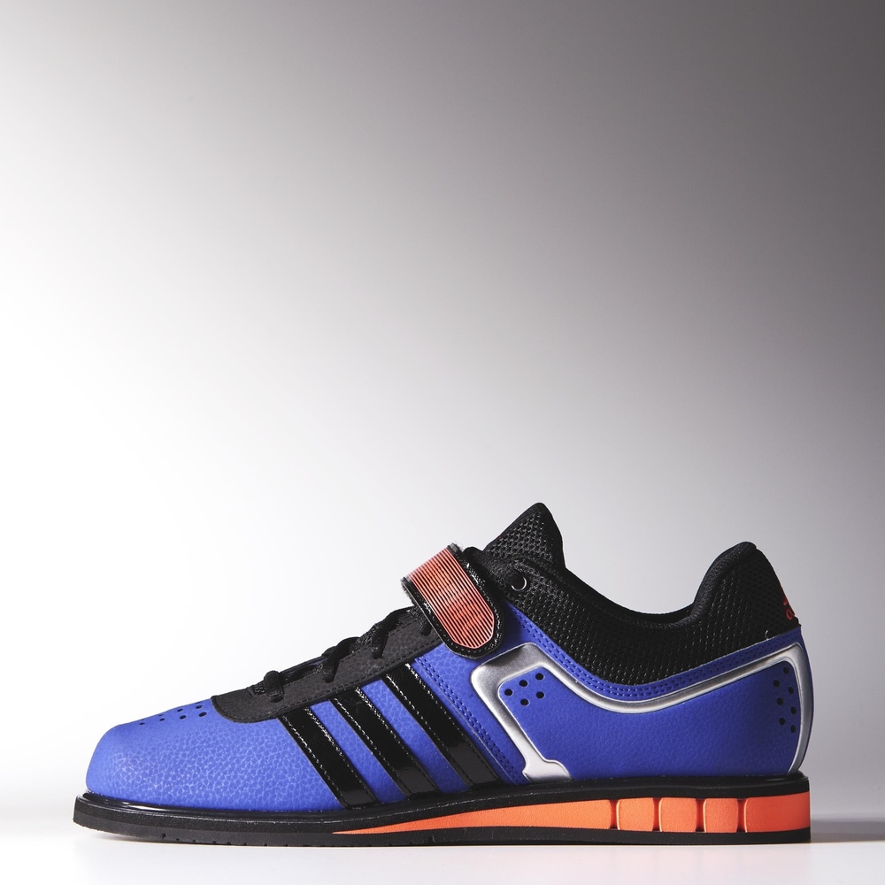 on sale 428df 48f81 ... sweden adidas powerlift 2.0 blue weightlifting shoes side 2588a 80630