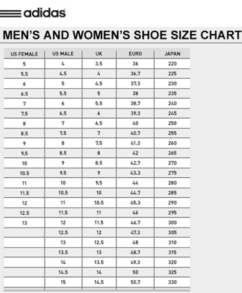 Adidas Weightlifting Shoe Sizing Guide. Adidas Power Perfect II 11af83529