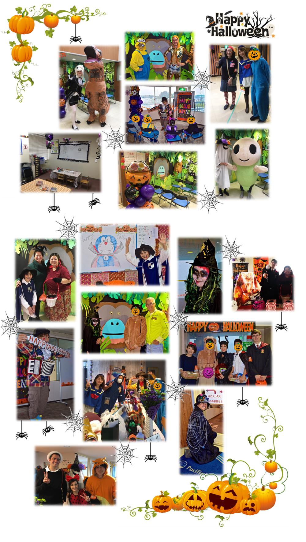 これらの写真はOrmandy校長、Namiko先生、Naoさんが撮りました。