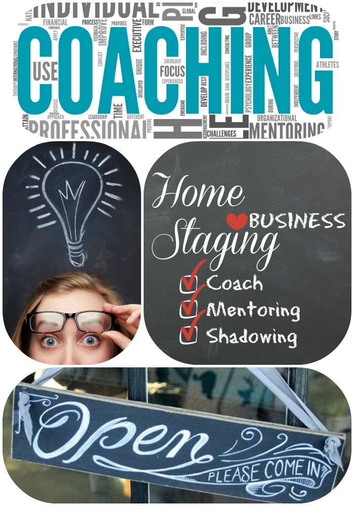 Coaching and Business Mentoring for Home Staging and Interior Redesign.