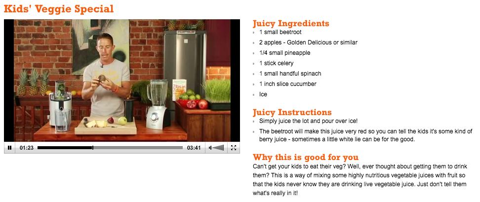 Foto: PrintScreen/ Site Juice Master
