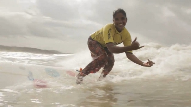 Nasima Akter em trecho do documentário The Most Fearless